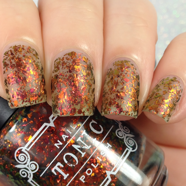 Tonic Polish-Down in Flames