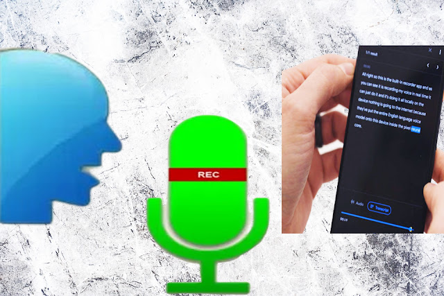 أطلقت شركة  Google  تطبيق Recorder لتحويل الكلام إلى نصوص بدون استخدام الانترنيت خلال مؤتمرإطلاق هواتف Pixel 4 والمنتجات التقنية الأخرى من جوجل.    هذا التطبيق متوفر بشكل رسمي لهواتف Pixel 4 حالياً هو تحويل الكلام إلى نص مكتوب بشكل فوري وبالزمن الحقيقي من خلال نظام موجود بشكل مسبق ضمن الجهاز.  وعند تحويل الكلام إلى نص مكتوب يمكن للمستخدم الاحتفاظ بكلا النسختين المسموعة والمكتوبة ليتمكن فيما بعد من البحث عن الكلمات ضمن النص المكتوب.    من دون شك يعتبر التطبيق مفيداً للطلاب الذين أصبح بإمكانهم تسجيل المحاضرات وتحويلها لنصوص للعودة إليها لاحقاً، وكذلك مفيد للصحفيين لتسجيل المقابلات ولرجال الأعمال لتسجيل محاضر الاجتماعات.    سيتوفر تطبيق Recorder في البداية بشكل حصري لهواتف Google Pixel 4، ومن المحتمل بعد ذلك أن يتوفر في Play Store.