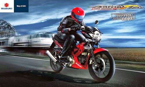Angsuran Kredit Harga Motor Suzuki Satria FU 150 Terbaru 2016