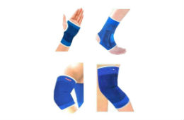 Jaatara Combo of Knee Palm Elbow Ankle Supports For Rs 164