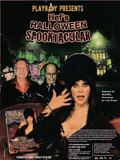 Hef's Halloween Spooktacular Ad Featuring Elvira