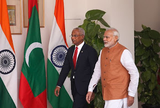 India supports Maldives to Construct Social Housing Units