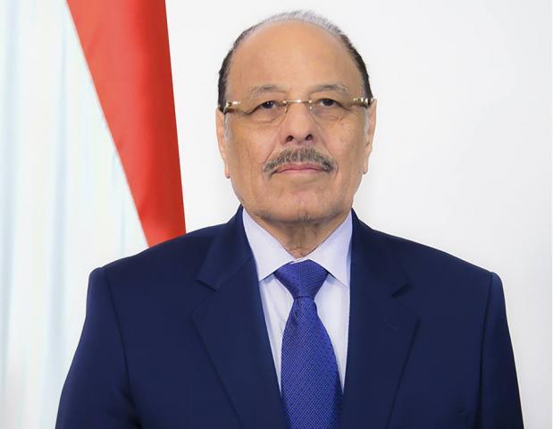 على قناة اليمن علي محسن الأحمر رئيسا للجمهورية اليمنية بدلا عن هادي