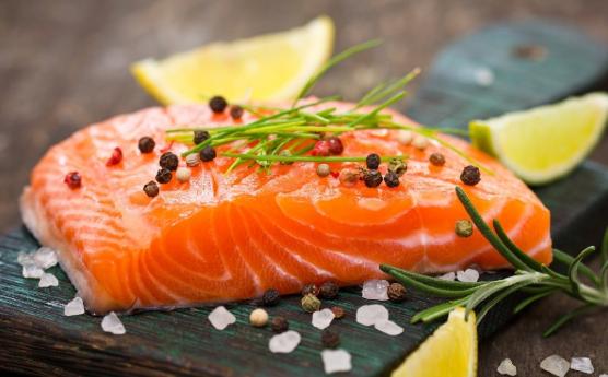 giảm cân với cá hồi