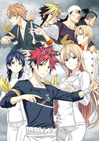 جميع حلقات الأنمي Shokugeki no Souma S4 مترجم