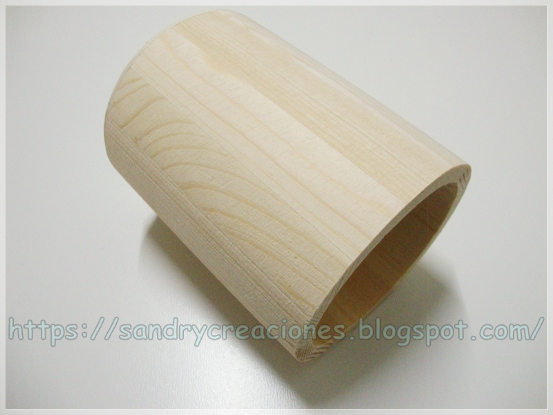 portalápices madera