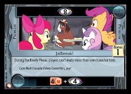 My Little Pony Jailbreak! Equestrian Odysseys CCG Card