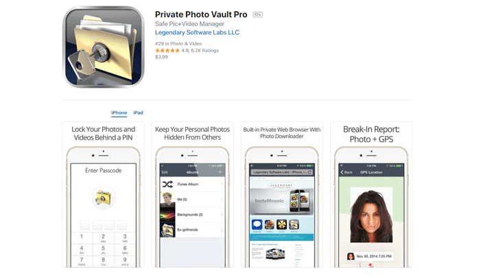 4 Aplikasi Terbaik Menyembunyikan Foto di iPhone