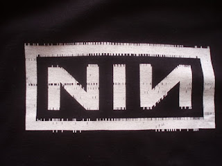 NIN logo, Nine Inch Nails, NIN, Trent Reznor,