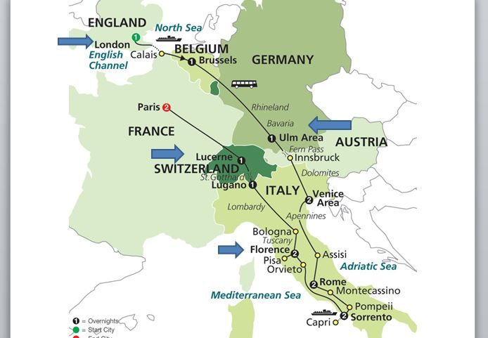 Focused On Story Travelogue Europe By Rail Through The Mountains