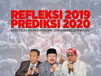 LIVE STREAMING DISKUSI REFLREKSI TAHUN 2019 DAN PREDIKSI 2020: INDONESIA SEMAKIN LIBERAL DAN TERJAJAH? ATAU SEMAKIN BALDATUN THAYYIBATUN WA RABBUN GHAFUR?