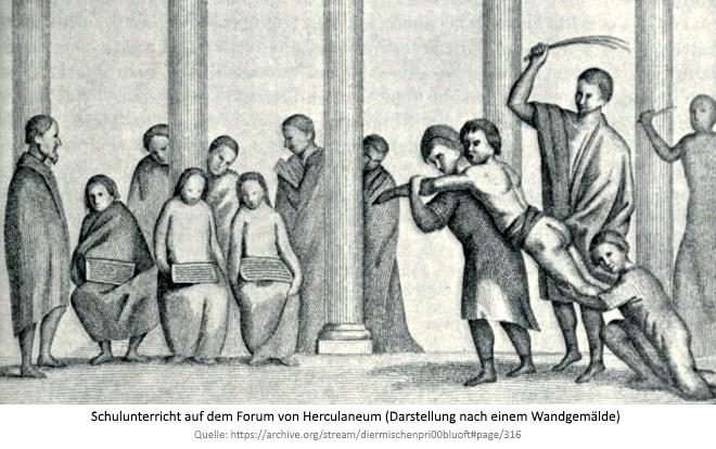 Vater vom tracht prügel Siebenschwanz: Assoziationen