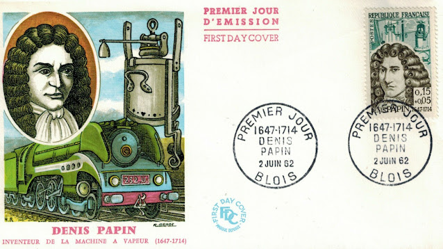 Denis Papin France FDC