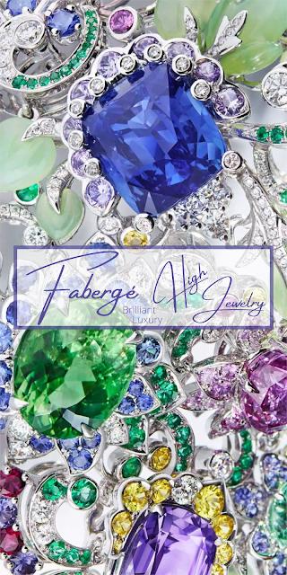 Fabergé colorful Secret Garden High Jewellery Collection #brilliantluxury