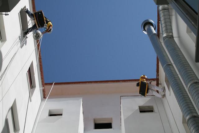 Reparación y pintura de patios interiores en Sevilla