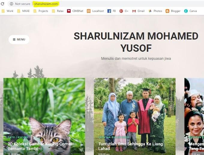 Menukar Domain Sendiri Untuk Akaun Blogspot