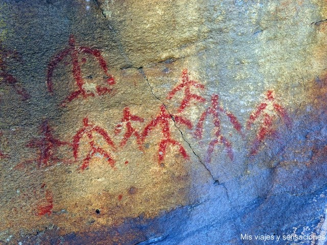 Pintura rupestre Los Peñascales, Valonsadero, Soria