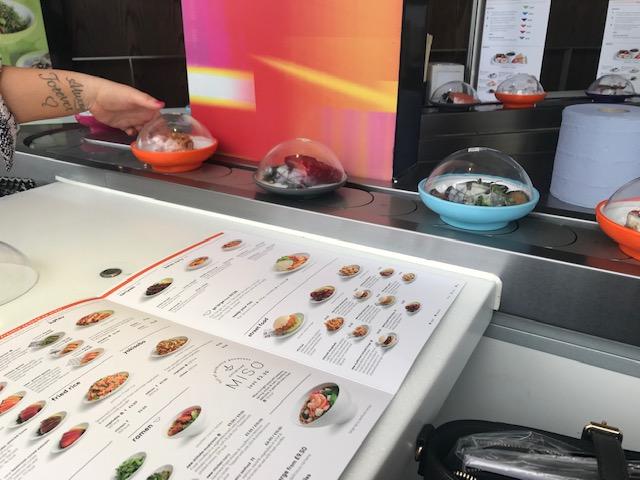 Yo Sushi, Sushi, Fast Food,