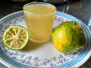 Citron Honey juice