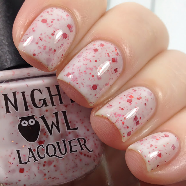Night Owl Lacquer-Candy Cane