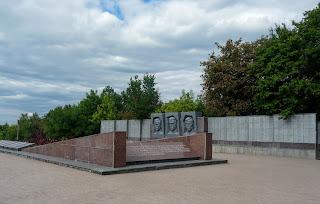 Святогорск. Донецкая обл. Мемориальный комплекс