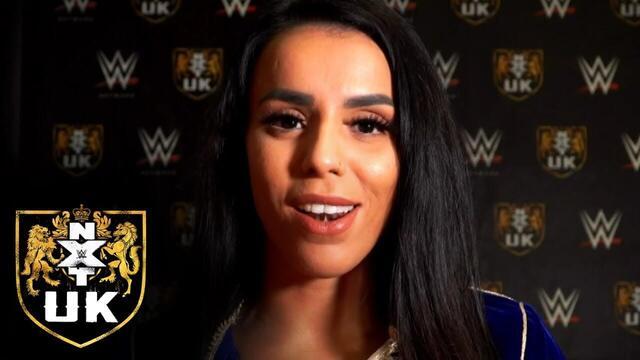المصارعة المغربية أمال تتوعد بطلة NXT UK اليابانية ميكو ساتومورا بانتزاع لقبها
