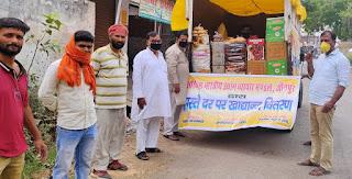 जौनपुर : निर्धारित दर से भी कम मूल्य पर खाद्यान्न दे रहा उद्योग व्यापार मण्डलः श्रवण जायसवाल   #NayaSabera