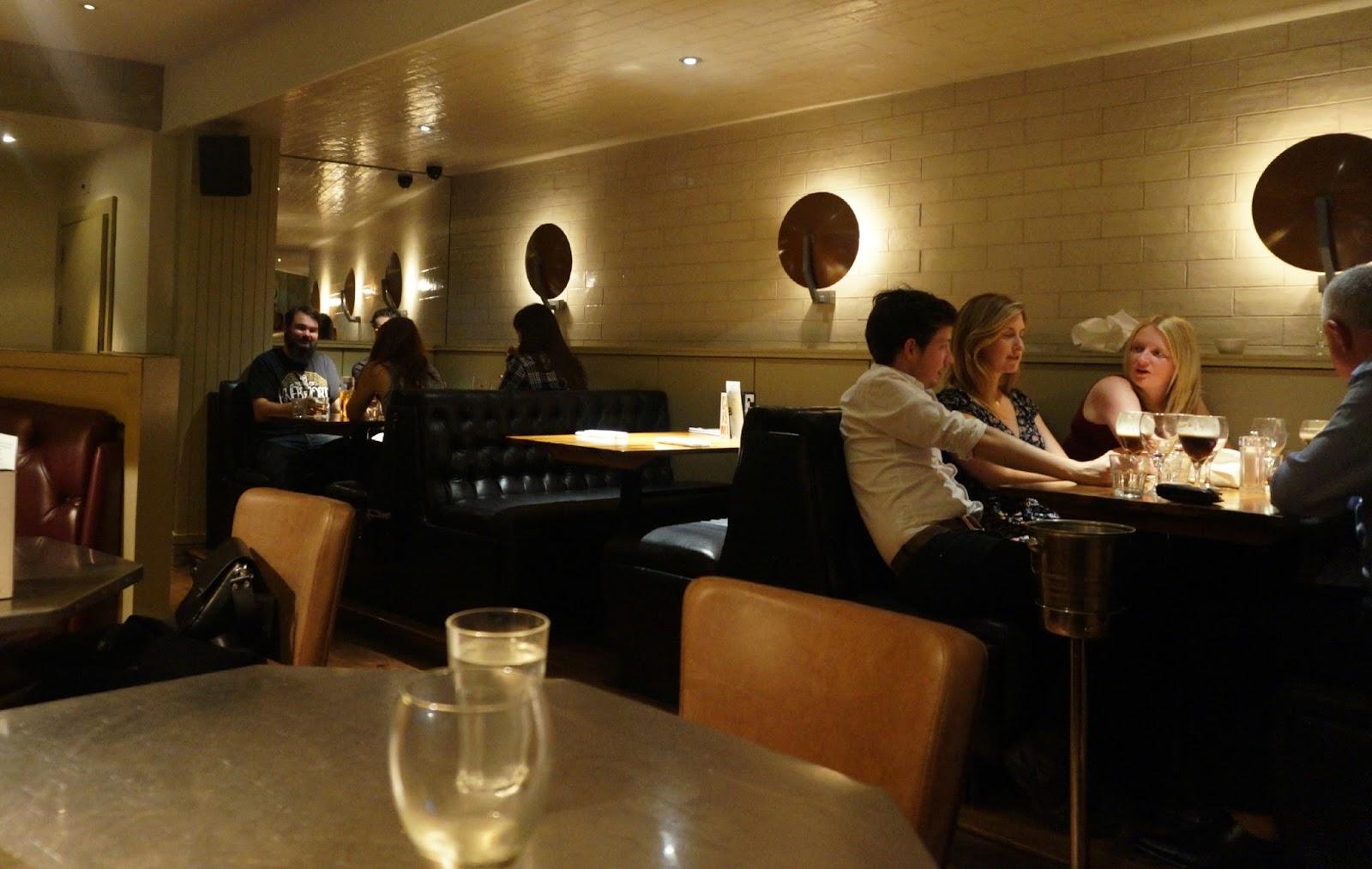 inside steak restaurant