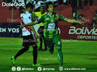 Pablo Zeballos le da la victoria a Oriente Petrolero sobre Nacional Potosí - DaleOoo