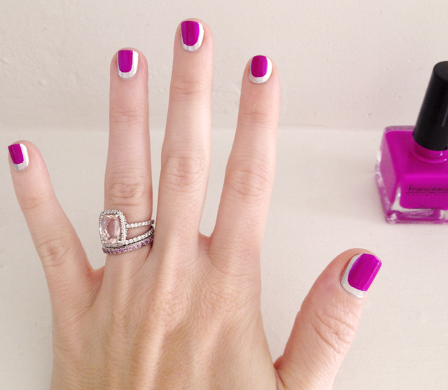 chanel nails, manicure, nail art, chanel, nails