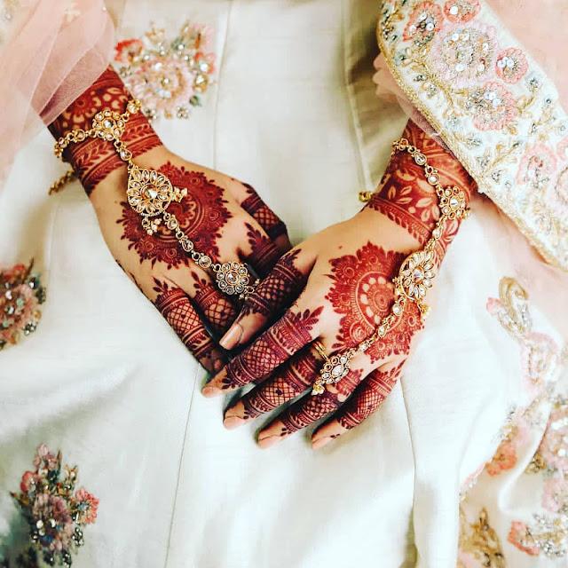 mehndi designs arabic simple for bride