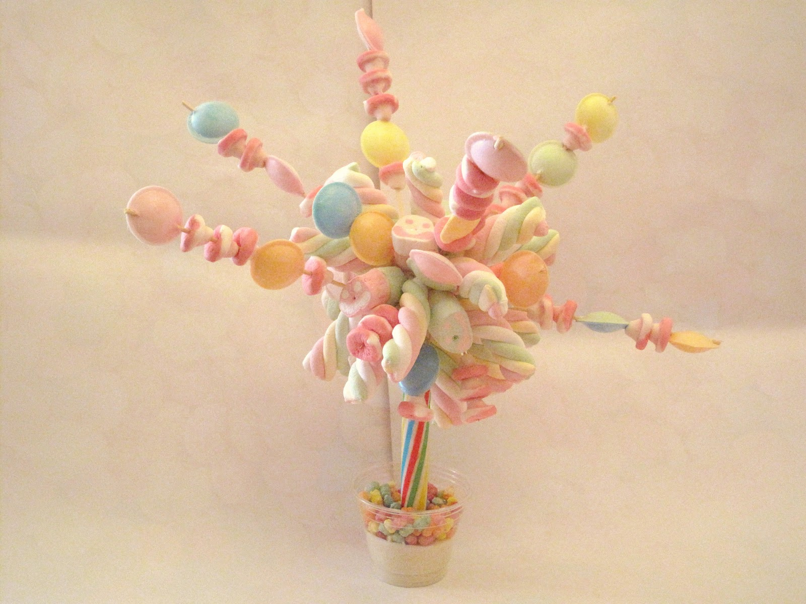 Candy Cupcake: Candy Trees From Candy Cupcake