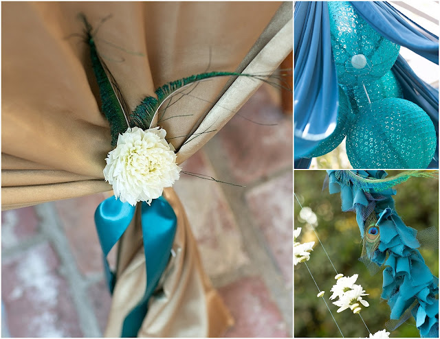 feather+wedding+theme+inspiration+blue+teal+turquoise+beige+champagne+green+reception+table+centerpiece+table+place+setting+escort+card+cards+bouquet+bridesmaids+dresses+bridal+dress+gown+meghan+wiesman+photography+1 - Show your feathers!