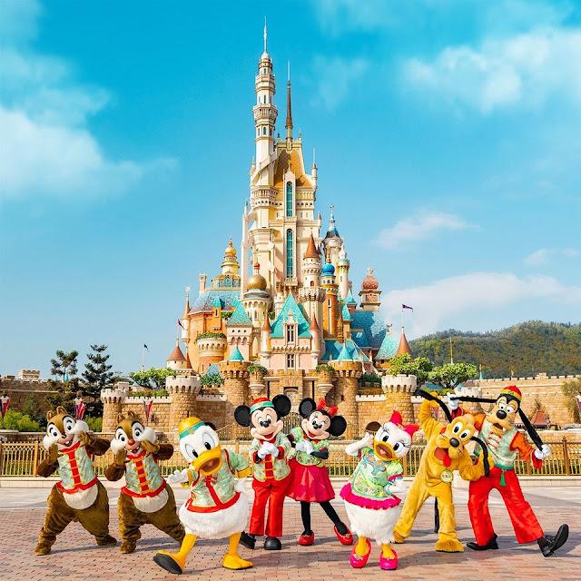 2021辛丑牛年香港迪士尼樂園度假區向大家拜年, Hong Kong Disneyland Resort