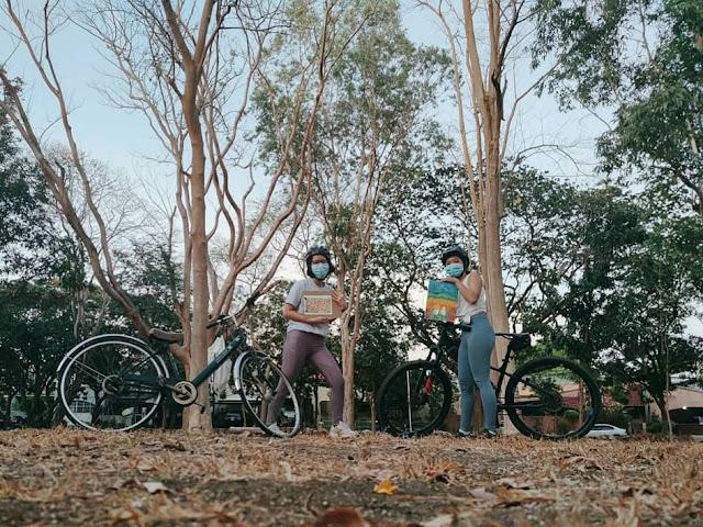 Bike and draw