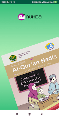 Aplikasi Buku Siswa Al-Qur'an Hadis Kelas 1 MI Kurikulum 2013