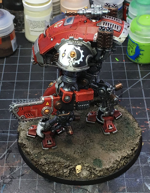 Armiger Warglaive from House Taranis WIP left