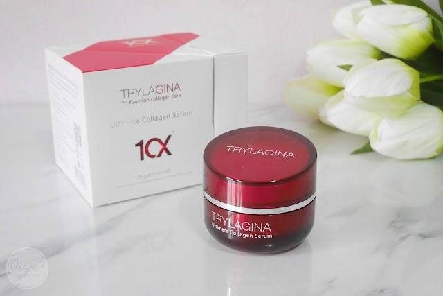 :: รีวิวครีมตู่นั่นทิดา หรือ เซรั่มกระปุกแดง Trylagina Ultimate Collagen Serum 10x ::