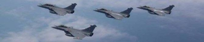 With 4 More Rafale Aircraft Landing At Ambala Air Force Station, India Has A Full-Strength Squadron of The Combat Aircraft