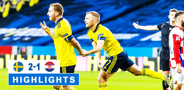 Sweden vs Croatia – Highlights