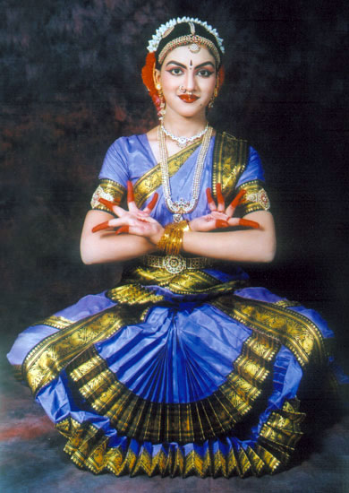 Bharata Natyam Dance Dress
