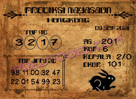 Pred Nagasaon Hk Kamis 09 September 2021