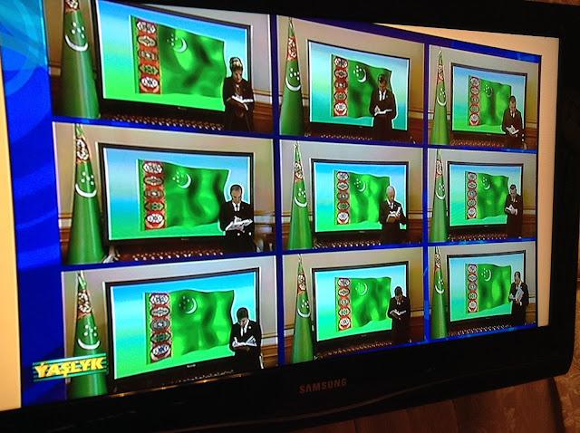 トルクメニスタンのテレビ番組