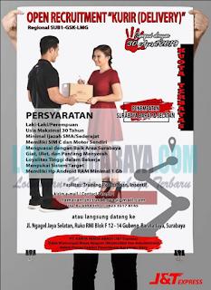 Walk In Interview di PT. Karya Niaga Abadi (J&T Express) Surabaya April 2019