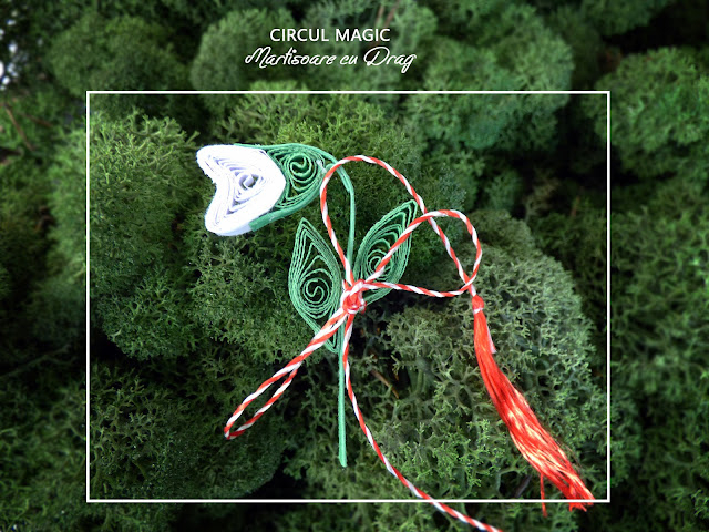 Circul Magic - Martisoare Quilling 2017 - Ghiocel
