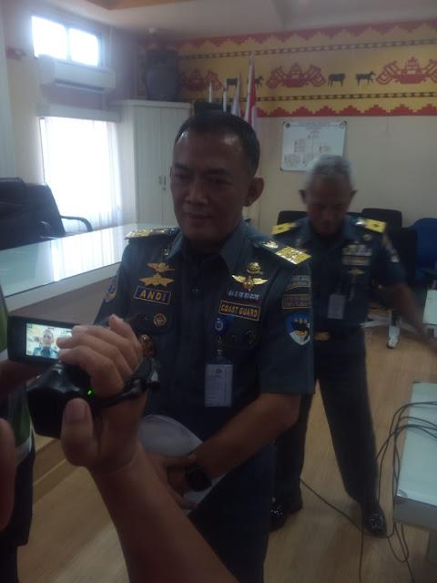 Kepala Kantor Kesyahbandaran dan Otoritas Pelabuhan (KSOP) Kelas I Panjang Andi Hartono