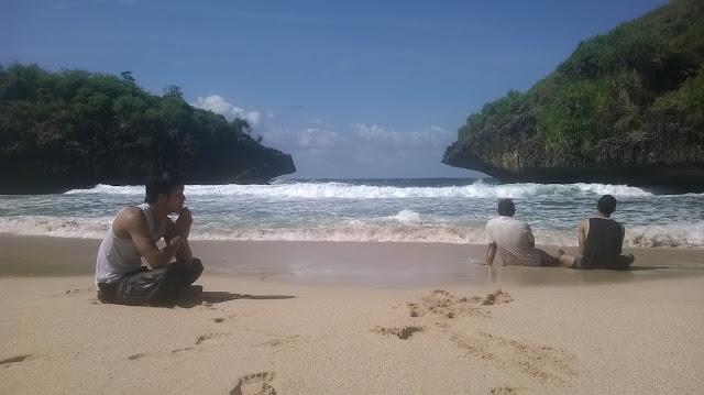 Pantai Sedahan Gunungkidul mbloogers