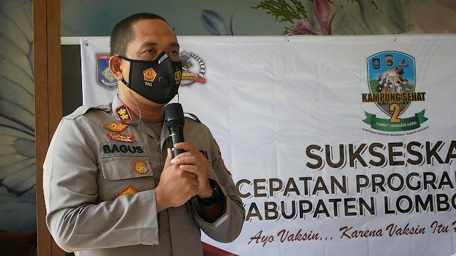Batalyon Vaksinator TNI-POLRI Dan Pemda Lobar Siapkan Layanan Drive Thru Untuk Percepatan Vaksinasi