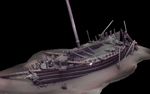 60 ancient shipwrecks found by climate scientists at bottom of Black Sea