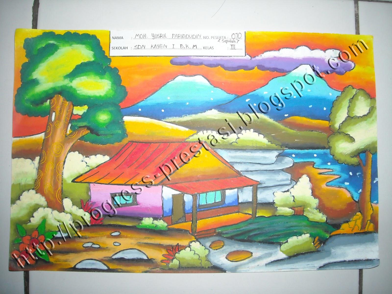 Gambar Rumah Anak Sd Kelas 6 Rumah Joglo Limasan Work